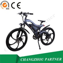 Lowest price promation 4-6 charge time disc brake electric bicycle which designs based on human(PNT-TDE-05)