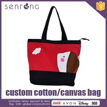 Black Canvas Shopping Bag Beach Canvas Bags 2012