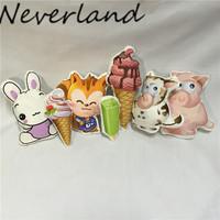 Wholesale pillow plush toy animal pillows cute children's toys pillow/pillowcase cushion cover DIY custom made Pillow BZ26
