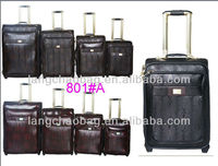Travel Trolley Luggage- MONSCA Brand Fashion Man and Lady Bussiness and Leisure Vintage Universal Wheel Travel Trolley Luggage