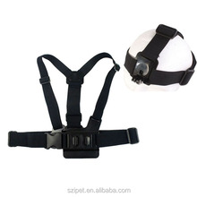 A model chest band with B model head band, for Go Pro He ro 4 3+/3/2/1,GP59