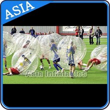 Family & Friends Pack of 4 Soccer, Standard body bumper, Bubble suits for soccer