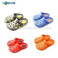 2015 plastic black garden shoes cool sandal for men