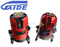Hot sale auto self leveling 3 lines 4 points red beam laser level equipment