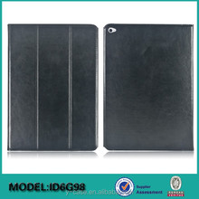 Hot selling leather Case for iPad Air 2 , leather case for iPad