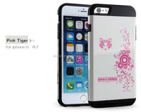 Heavy Duty Hybrid shockproof cover case for iphone 6 cell phone