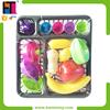 15 PCS Fruits Toy Plastic Pretend Mini Toys Kitchen Play Set