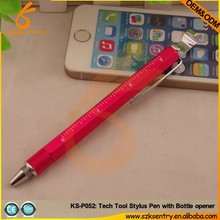 New Arrival Pen with 8 in 1 /Tool Pen with multifunctional for all phones and tablet