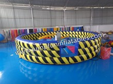 2015 hot funny commercial inflatable eliminator,inflatable meltdown mechanical