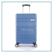 2015 new style blue hard luggage trolley bag