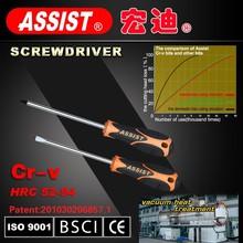 China hand tools of CRV S2 material manual magnetic screwdriver bit sets
