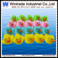Baby squeaky duck/plastic whistle duck toy