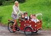 Electric reverse pedal tricycle for sale/ dutch Bakfiets