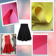 fashion girl dress air mesh suede fabric textile space yarn dyed cotton fabric fashion dressess fabric