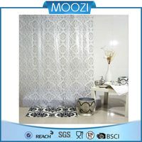 3D Effect Water-proof EVA Shower curtain