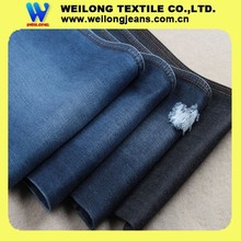 B2221-A 100% good quality slub for men jeans 2 right hand twill 100% cotton denim fabric