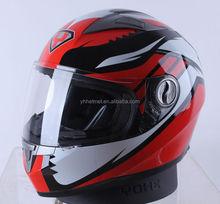 Popular DOT ECE NBR full face unique police motorcycle helmet