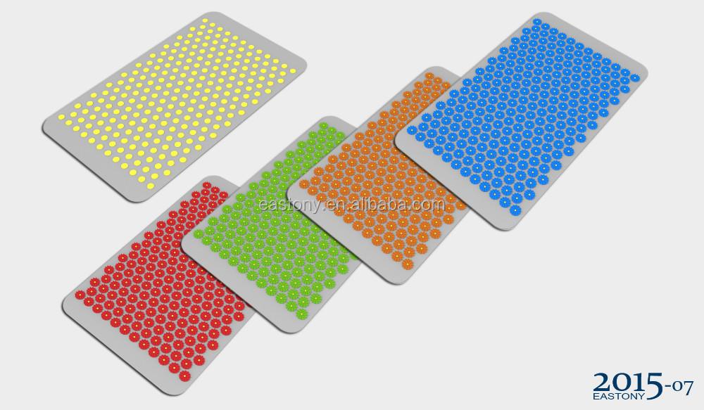 EASTONY En Plastique de Spike Massage Acupuncture tapis avec sac de ...