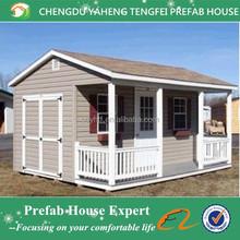 Fireproof prefab small wooden house design