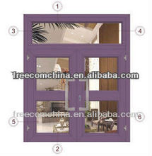 6063 t5 aluminum extruded profiles for Beautiful frame of Sliding Window and Door