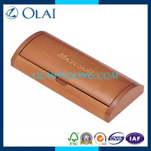 2014 hot sale maple wooden single pen box for sale solidwood with lacquer