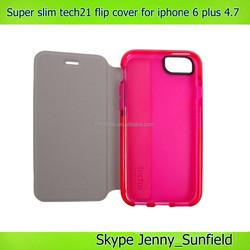 Super slim tech21 flip cover case for iphone 6 plus 4.7, for iphone 6 case tech21