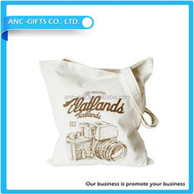 Extra large canvas tote bag/fashion canvas bag/canvas packaging