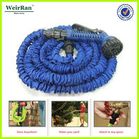 (23752) 2013 lightweight innovative rewindable color latex garden hose reel set
