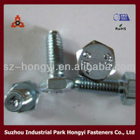 bolt and nut bolts drawing for flanges hot dip galvanized bolt and nut