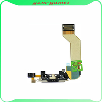 For iPhone 4S USB Black Dock Flex Charging Port Dock Connector Ribbon Cable