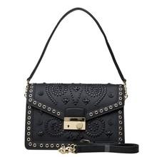 in vera pelle italiana stile borsa a tracolla della borsa nomi di marca modello