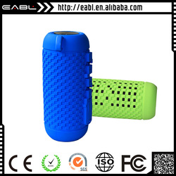 Mini sized lx-839 bluetooth speaker with silicon housing