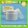 plastic jar for food,plastic jar metal lid,plastic clip jar