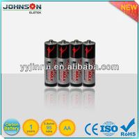 AA zinc carbon R6 1.5v european battery