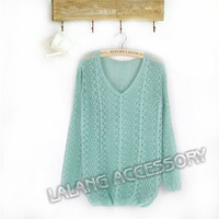 Женский пуловер Women Knitted Pullovers T 851479 Candy Color Sweater