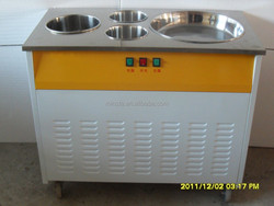 2015 new square pan fry ice pan fruits/milk fried ice pan machine french type low price of fried ice cream machine
