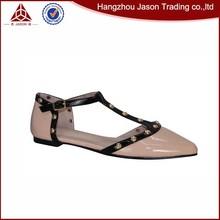 Best quality wholesale lady flat shoe