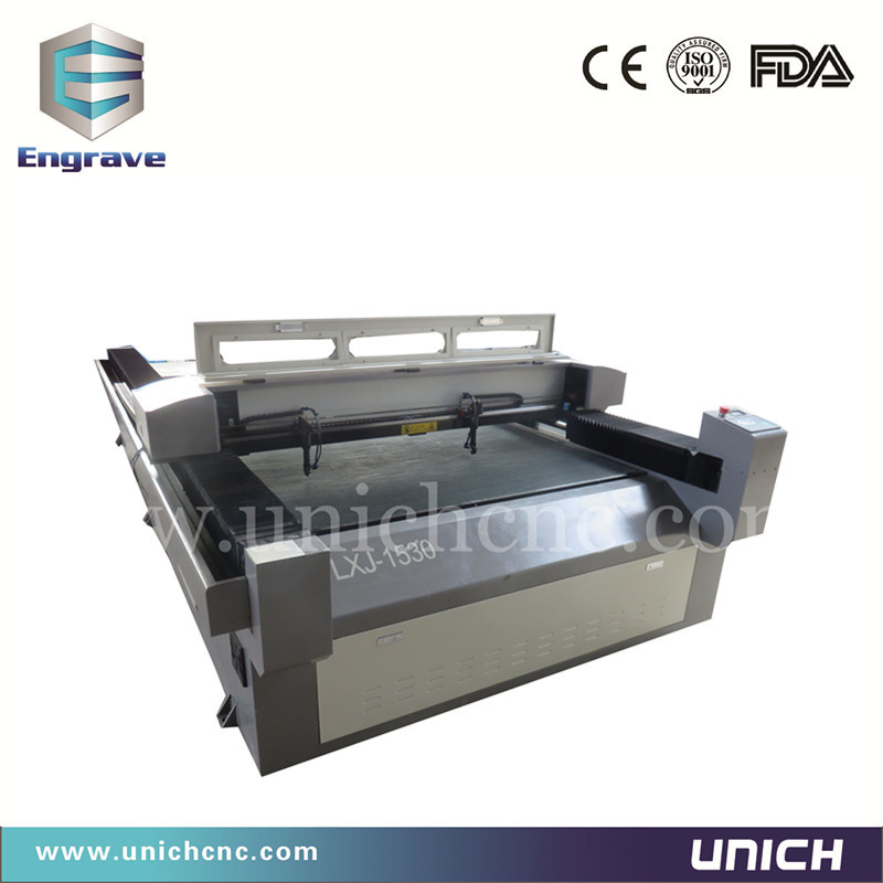 Double head cnc laser cutting machine low price laser for Laser printing machine for t shirts