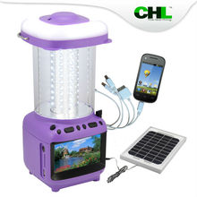 2015 Innovative CHL solar authentic lantern with mobile phone charge