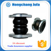 Factory supply nbr dn200 pn16 galvanized rubber expansion joint