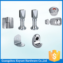 Precision Casting Stainless Steel Bathroom Cubicle Partition Hardware Toilet Accessory