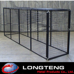 welded mesh big metal dog kennels