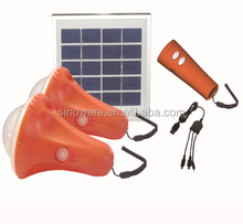 Portable Solar lantern with mobile phone charger and flashlight,remote control solar lantern