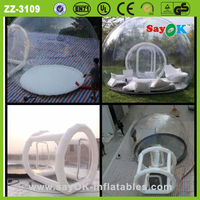 big igloo transparent inflatable clear bubble tent price for sale