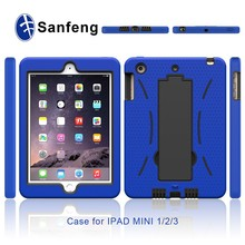 Kickstand Phone Cover Case for iPad Mini 4 Mobile Accessories With Robot Design