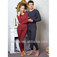 Fashion popularity ladies and Men's high quality Seamless Thermal Underwear Sets