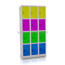hight quality good price knock down all steel 12 door locker/India Office Furniture