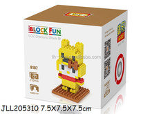 High sale wonderful ABS new plastic building block loz toy blocks