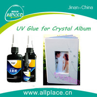 Excellent adhesive good performance uv glue for crystal photo