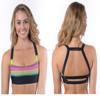 High Quality Factory Price Ladies sports bra fashion yoga bra Custom